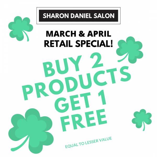 BUY 2 PRODUCTS GET 1 FREE