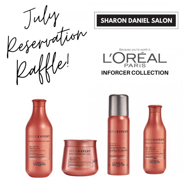 JULY Rservation Raffle the one!