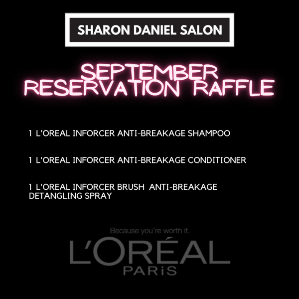 RESERVATION RAFFLE SEPT 2020 POST THE ONE